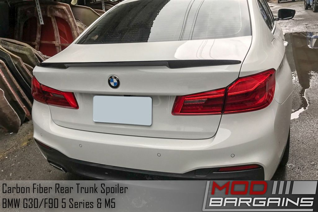 Carbon Fiber High Kick Rear Trunk Spoiler for 2018+ BMW 5-Series & M5 [G30/F90]