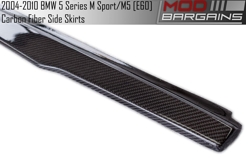 BMSS6001 Carbon Fiber Side Skirts for E60
