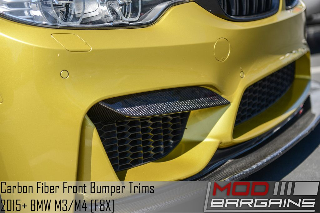 Carbon Fiber Front Bumper Trim for BMW M3/M4 F80 F82 BMGI8X53