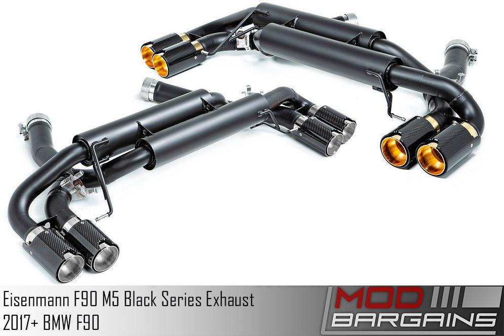 B5555.00904.BC F90 M5 Eisenmann Black Series Performance Exhaust & Mid Pipes