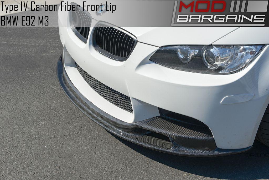 Arkym Aerosport SE Lip BMFS9270 Carbon Fiber Type IV Front Lip for E9X M3