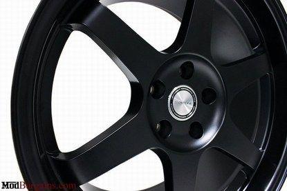 Sportline TE.6 Wheels Matte Black