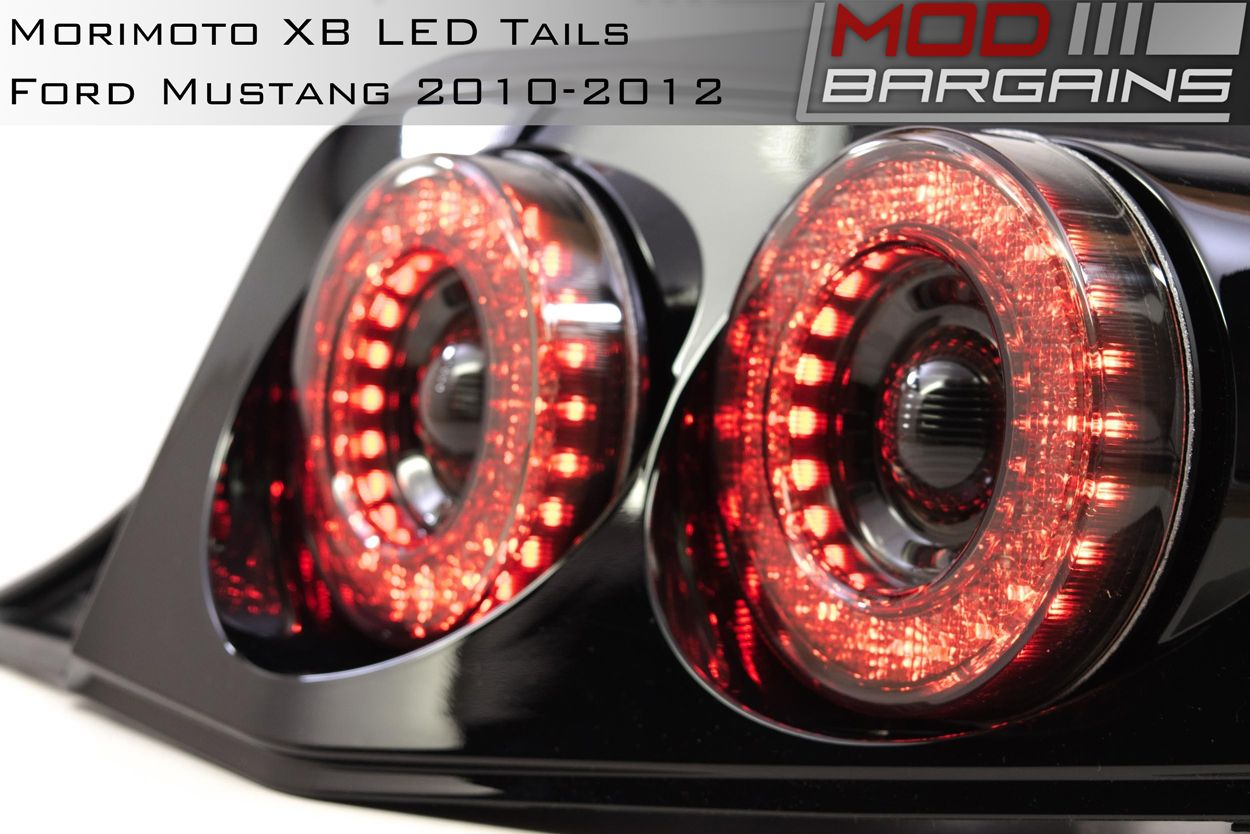 Morimoto XB LED Tails for 2010-2012 Ford Mustang