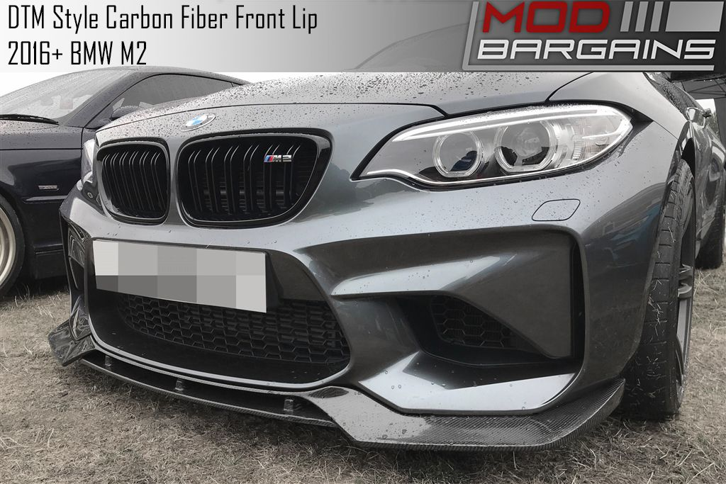 DTM Style Carbon Fiber Front Lip for BMW F87 M2 BMFS8705