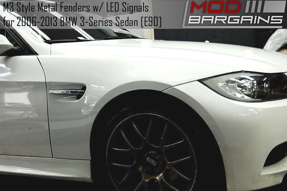 M3 Style Front Fenders for 2006-2013 BMW 3 Series E90M3FENDERS