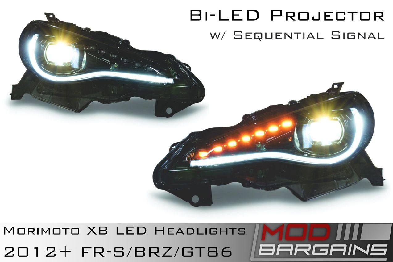 Morimoto XB Bi LED Headlights for 2012-Current FR-S, 2012-Current BRZ, and 2012-Current GT86