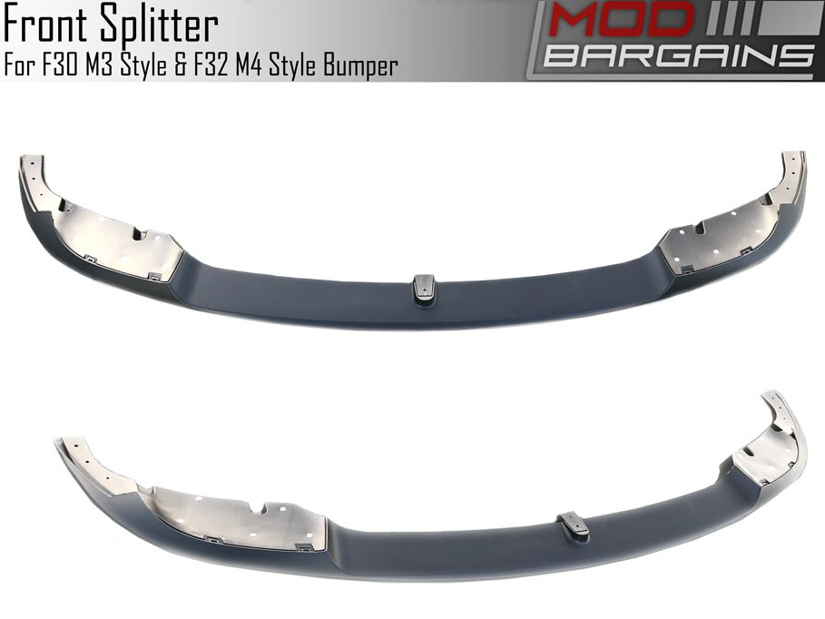 Front Lip option for F3X vehicles with an F8X M style front bumper F30M3FT-LIP