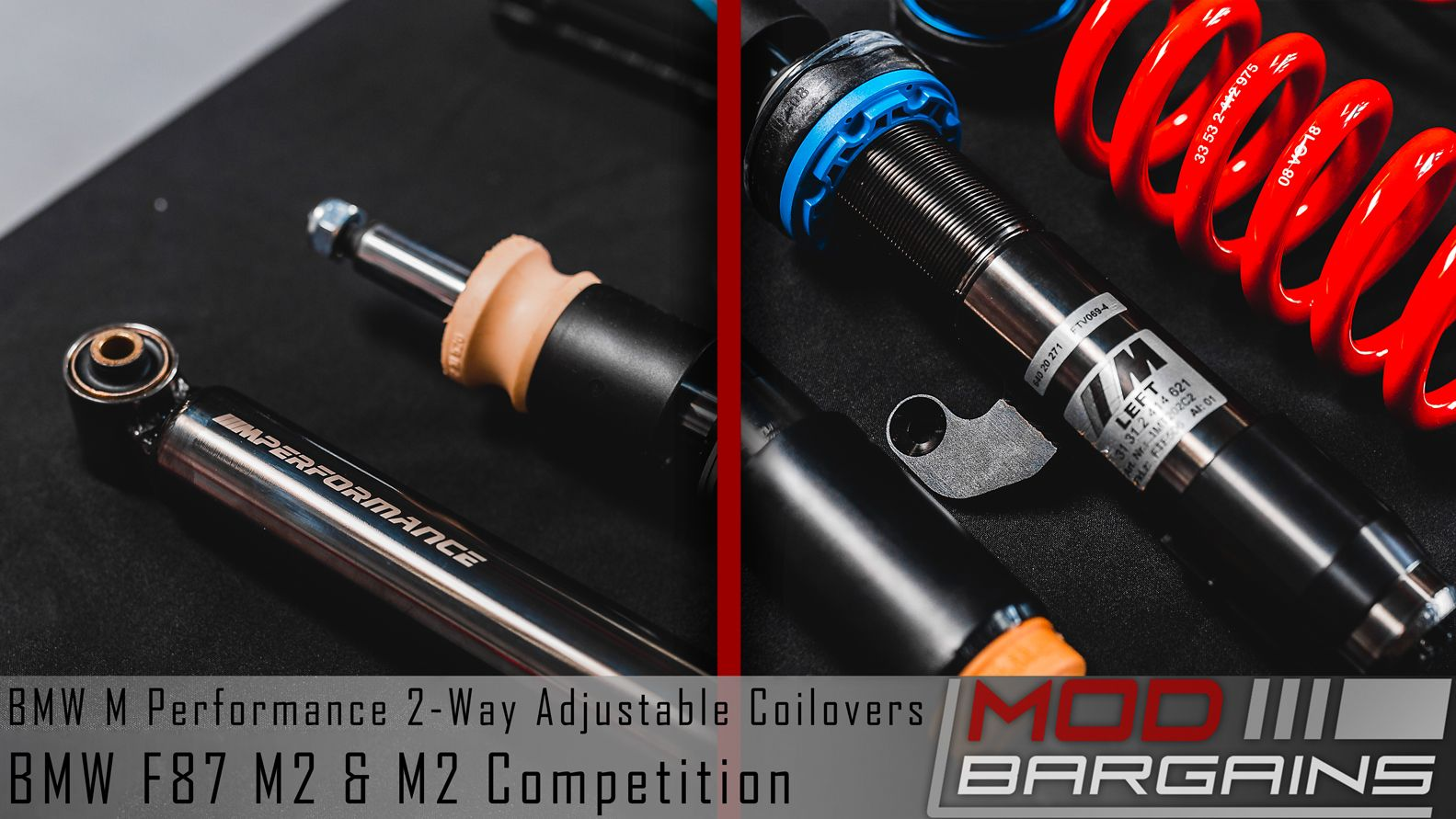 M Performance Coilovers for you BMw M2 or M2 Competition [F87]