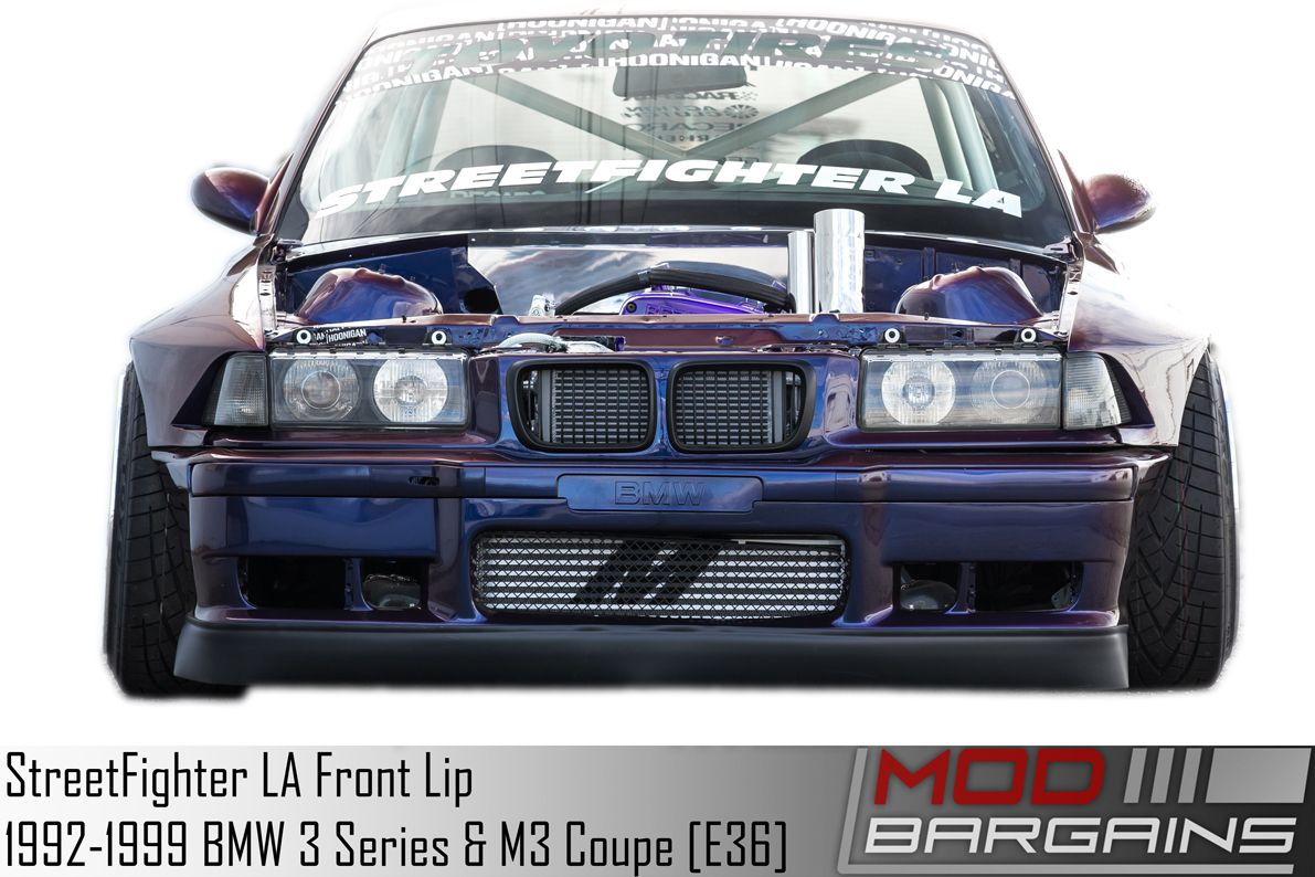 streetfighter la front lip for 1992 1999 bmw 3 series m3 coupe e36 streetfighter la front lip for 1992 1999 bmw 3 series m3 coupe e36