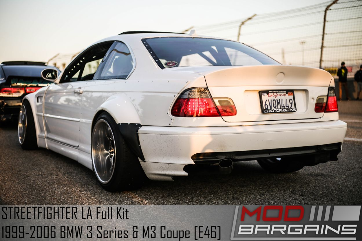 STREETFIGHTER LA Wide Body Kit for 1999-2006 BMW 3 Series & M3 Coupe [E46]