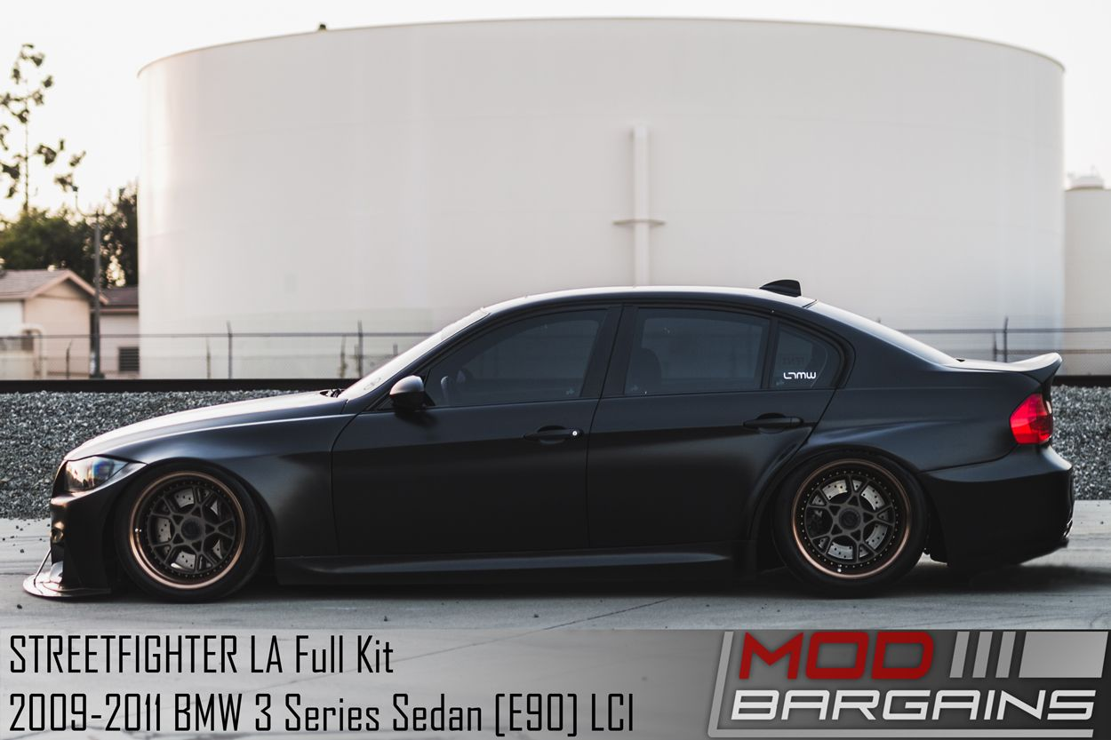 Streetfighter La Wide Body Kit For 2009 2011 Bmw 3 Series Sedan E90