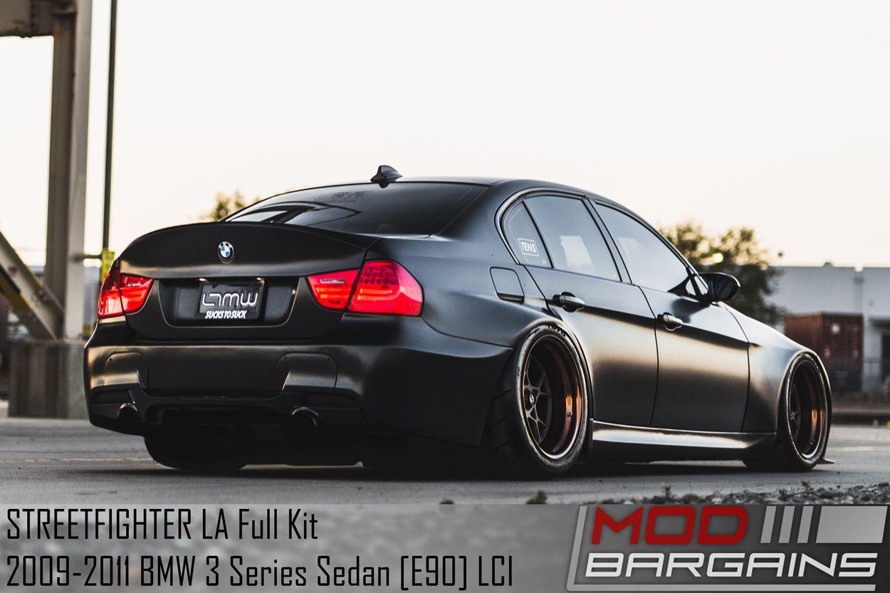 STREETFIGHTER LA Wide Body Kit for 2009-2011 BMW 3 Series LCI Non-M Sedan [E90]
