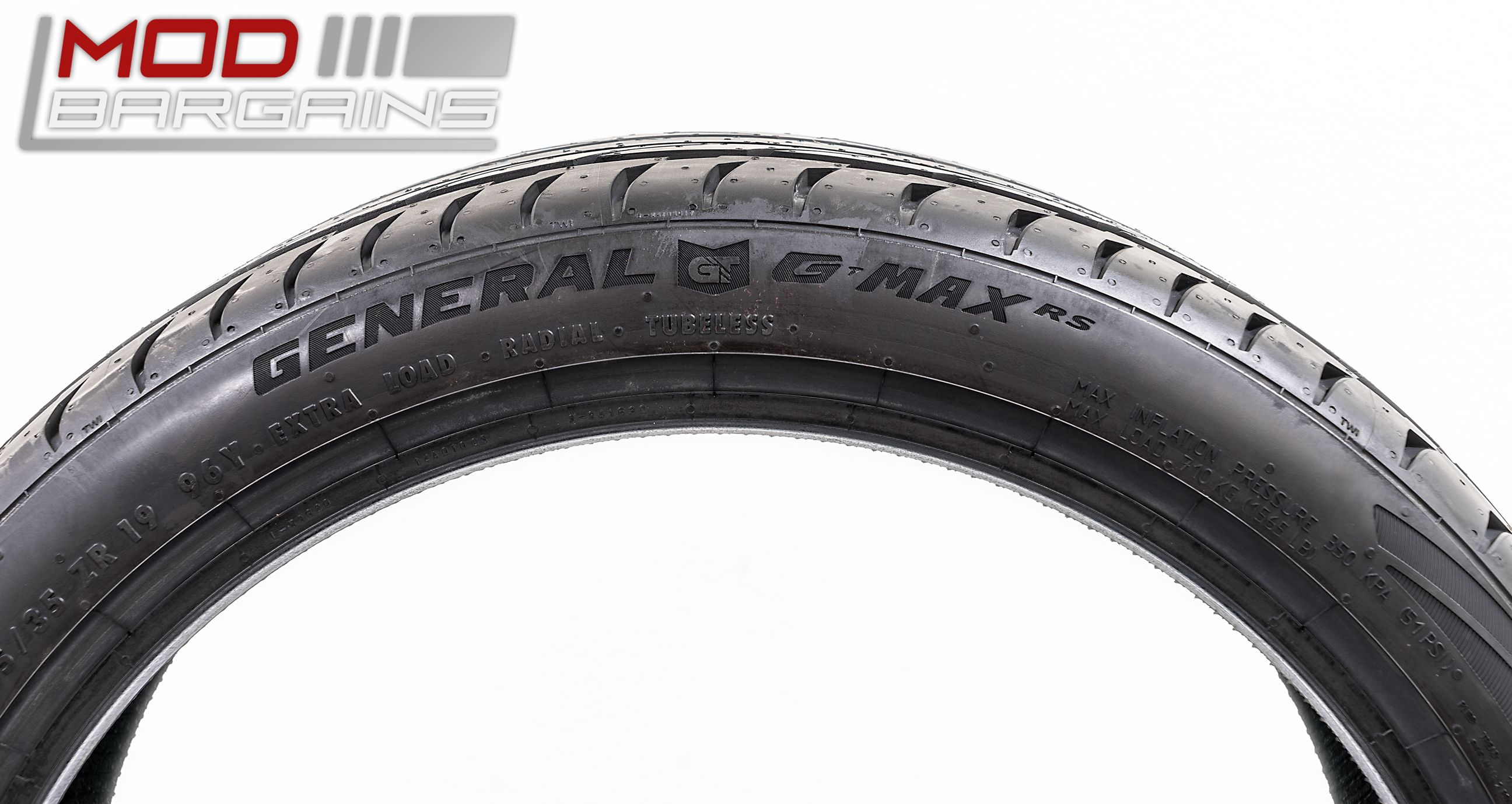 General G-MAX RS Ultra High Performance Tires