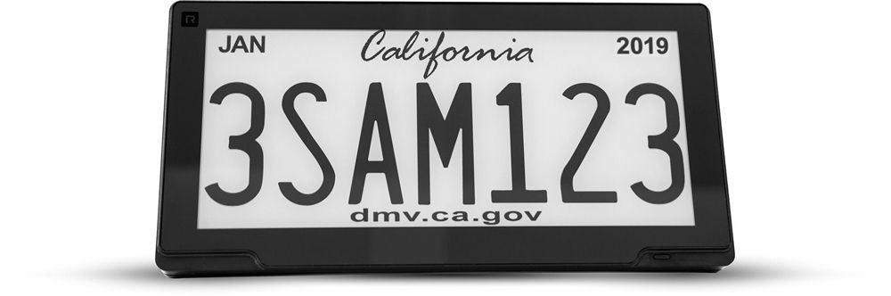 Reviver Digital Licence Plate for California