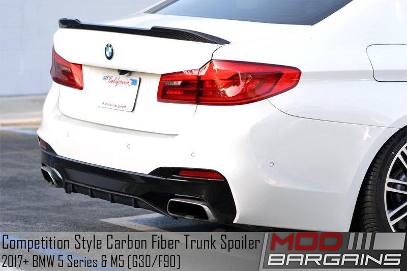Competition Style CF Trunk Spoiler for F90 M5 & G30 5 Series