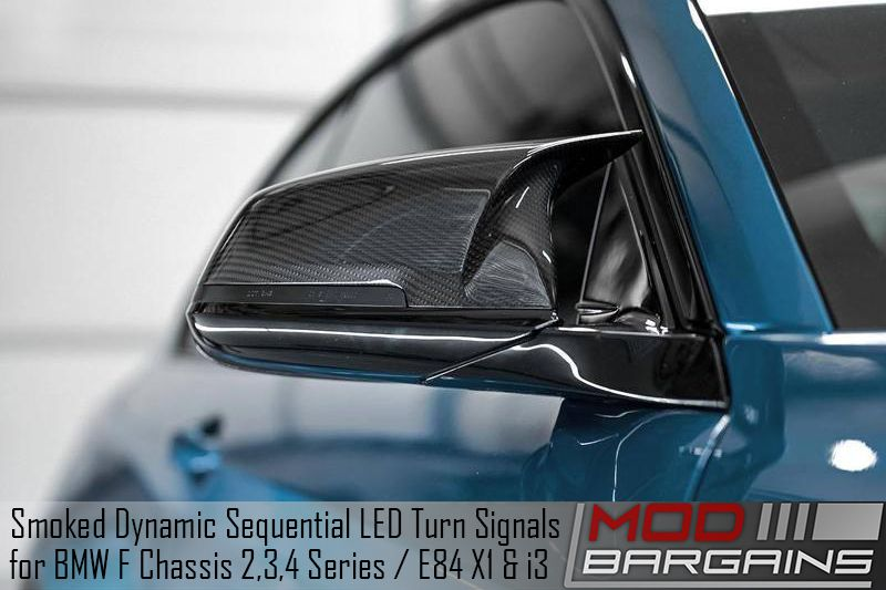 Smoked Dynamic Sequential LED Turn Signals (ATK-BM-0267)