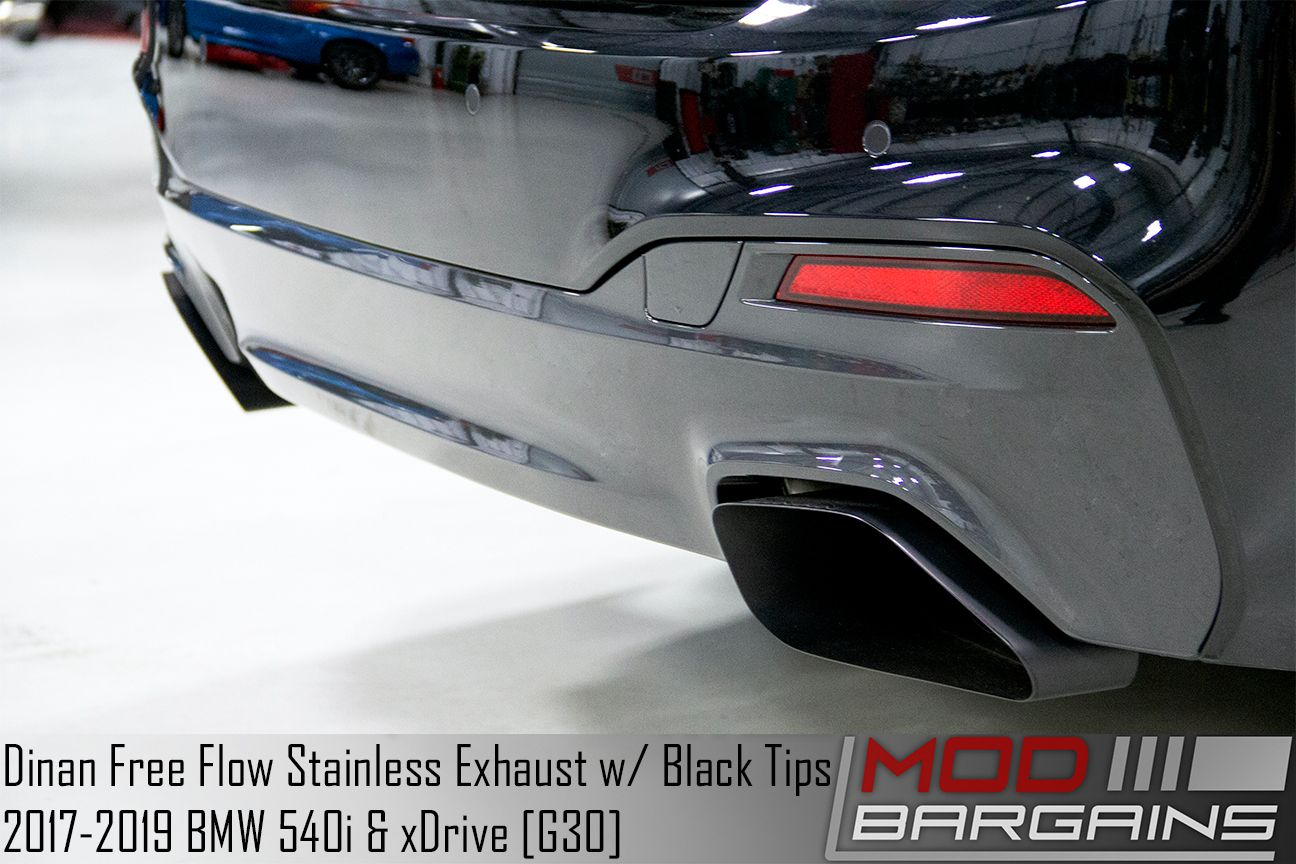 Dinan Performance Axle-Back Exhaust for 2017+ BMW M540i xDrive [G30]