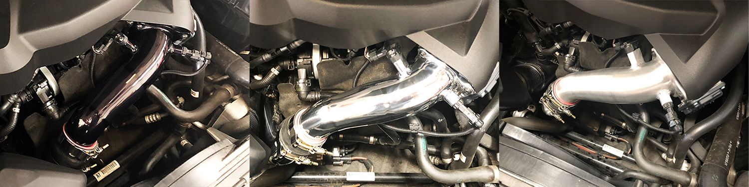 Evolution Racewerks Charge Pipe for B46/B48 BM-ICP007A