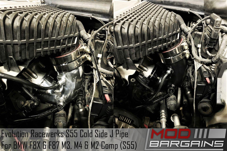 Evolution Racewerks J Pipe for S55 BM-ICP015-