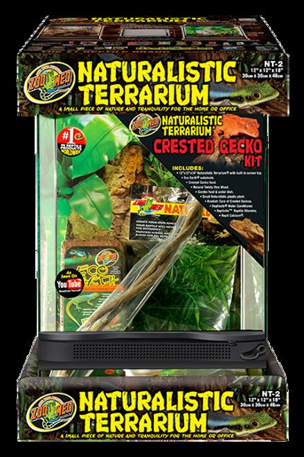 Naturalistic Terrarium Crested Gecko Kit