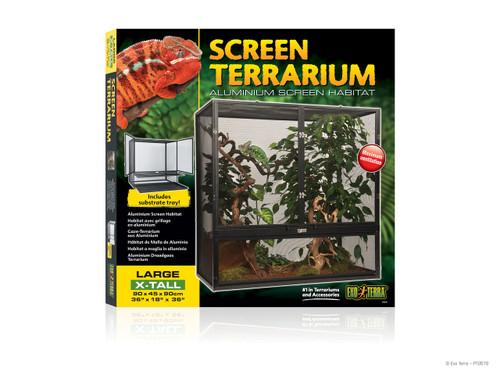 """Exo Terra Screen Terrarium Large X-Tall (36"""" x 18"""" x 36"""")"""