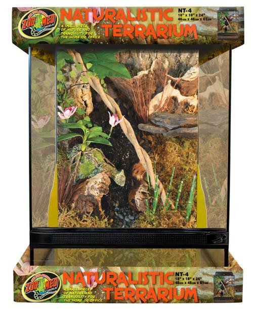 """ZooMed Naturalistic Terrarium 18"""" x 18"""" x 24"""""""