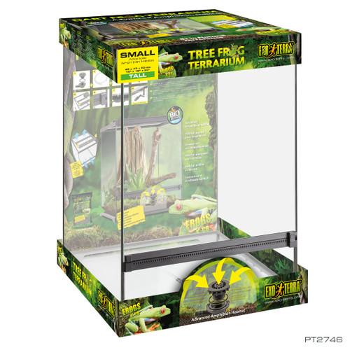 """Exo Terra Tree Frog Terrarium 18"""" x 18"""" x 24"""""""