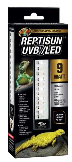 ReptiSun® UVB/LED 9 Watt