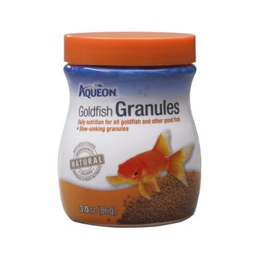Aqueon Goldfish Granules Fish Food 3oz Jar The Tye Dyed Iguana Reptiles And Reptile Supplies In St Louis