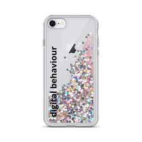 Digital Behaviour Liquid Glitter Phone Case