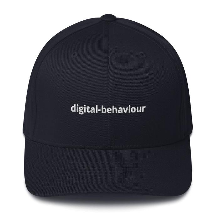 Digital Behaviour Structured Twill Cap