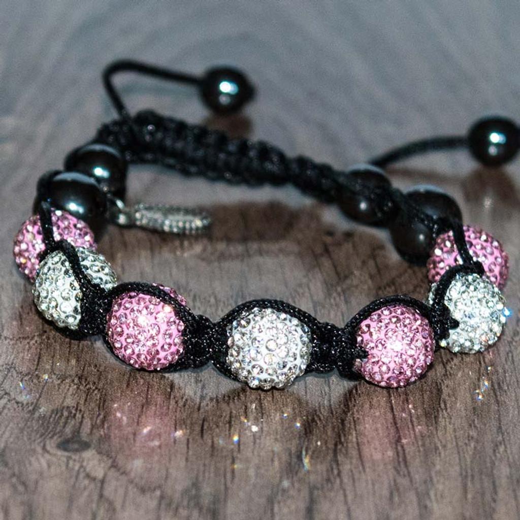 Darla's Pink Disco Ball Bracelet
