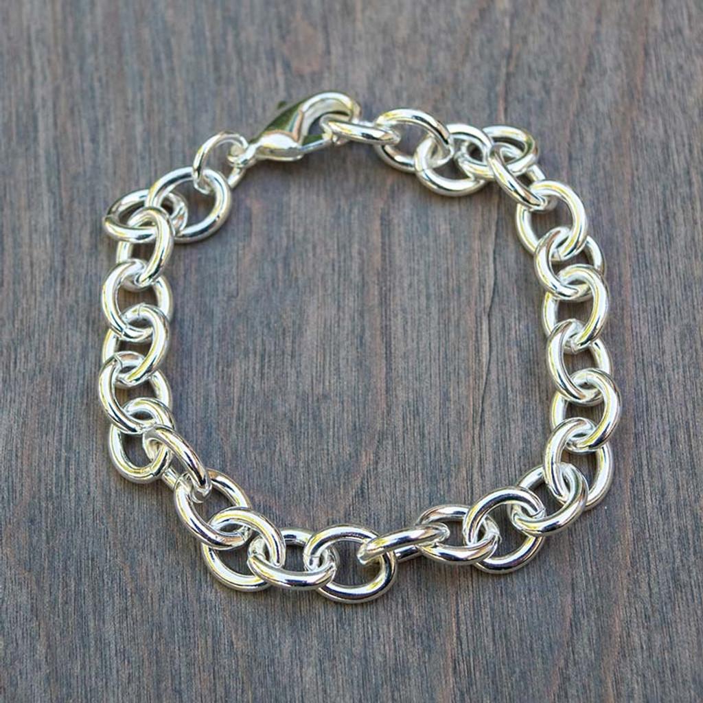 Lexi's Links Silver Toned Bracelet