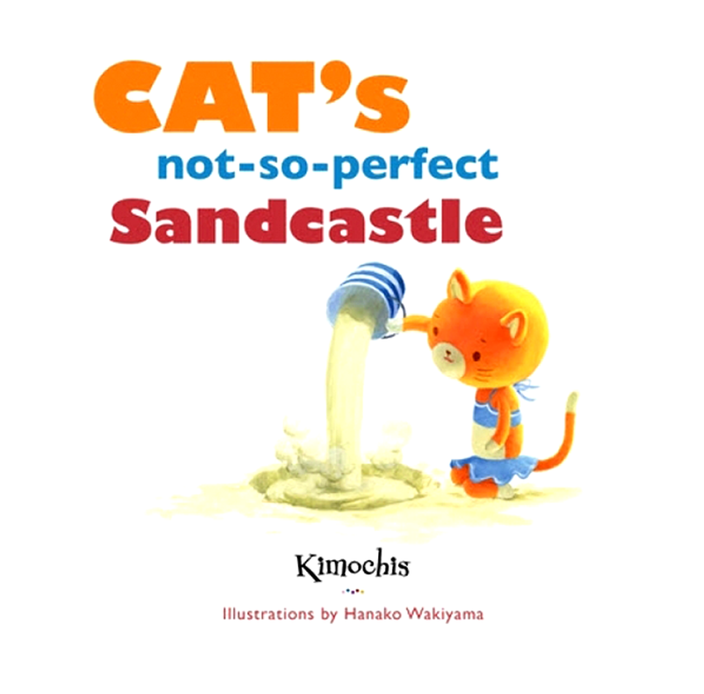 Kimochis® Cat's Not-So-Perfect Sandcastle