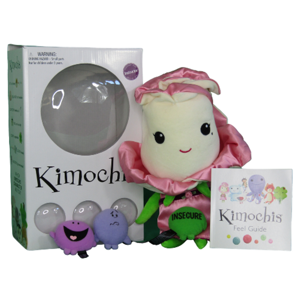 "Kimochis® Bella Rose 13"" Plush Character"