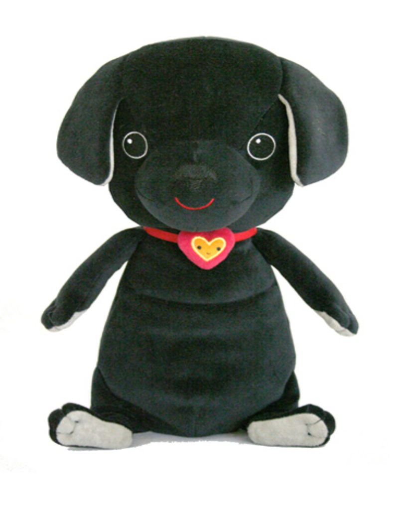 """Kimochis® Hero 13"""" Plush Character in a Canvas Bag"""