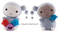 """Kimochis® Cloud 13"""" Plush Character (Reduced Packaging)"""
