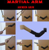 MARTIAL ARTS ARM TRAINING DUMMY
