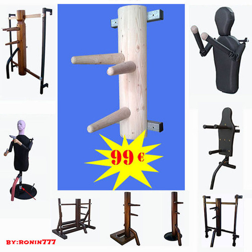 cheap wooden dummy  low cost training