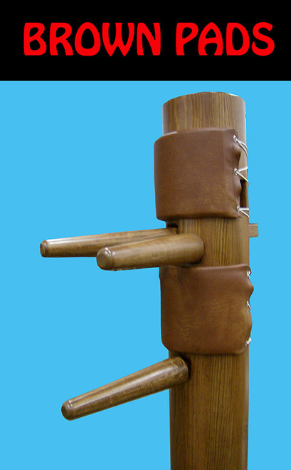 brown pads for traditional wooden dummy