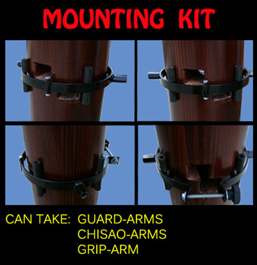 Mounting kit for human arms ,chisao arms and armed arm