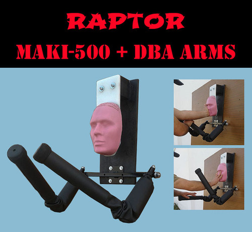karate dummy , spring arms for martial arts
