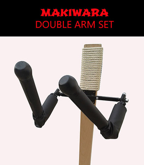 DOUBLE HUMAN ARMS SET FOR MAKIWARA