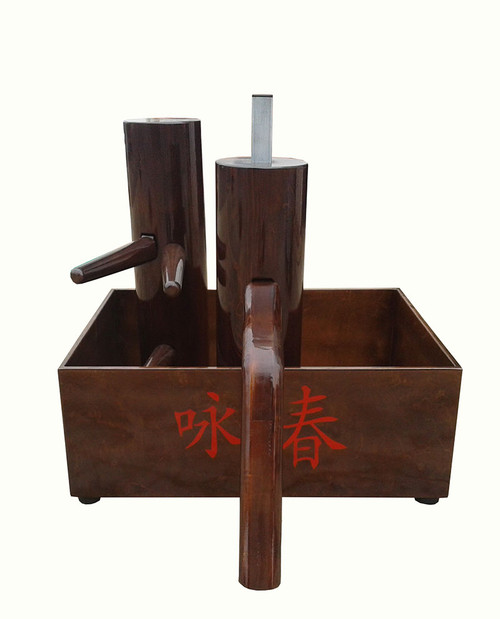 KUNG FU BOX -WOODEN DUMMY