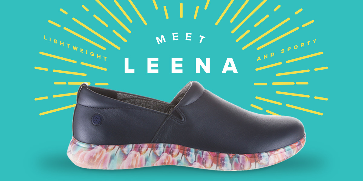 Meet Leena! She's lightweight, sporty and the newest member of the Klogs family. Shop Leena today.