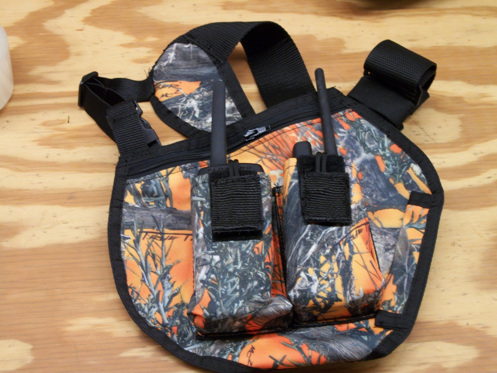 Double Pouch Radio Harness