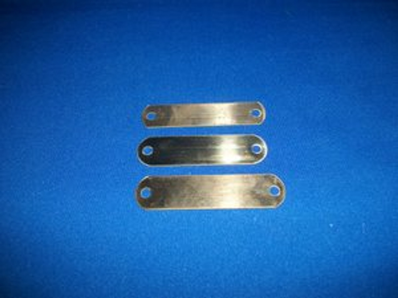 "Brass Name Tag Plates (3/4"" x 3"")"