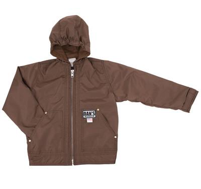Dan's Kid's Hooded Coat S-XL