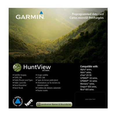 Huntview Map Card