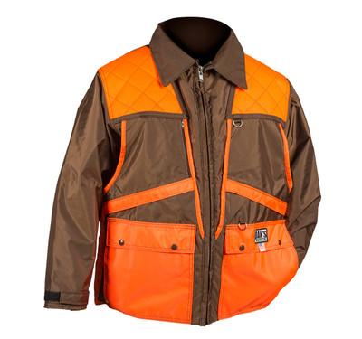 Dan's Game Coat (Brown & Orange) 2XL